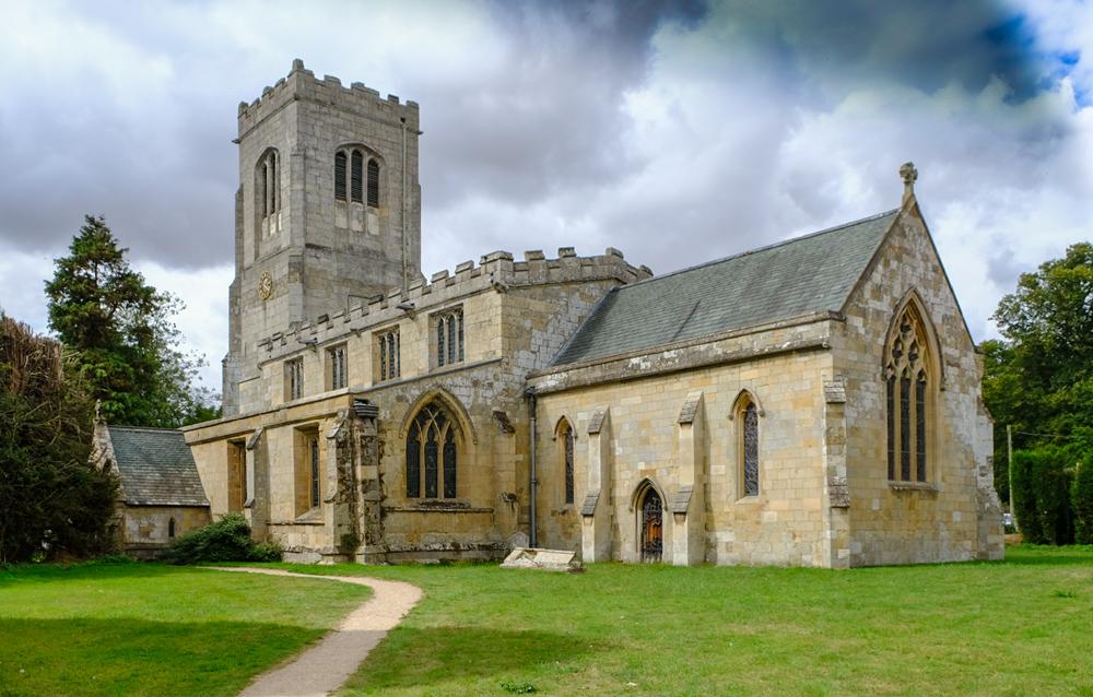 photoblog image Burton Agnes Hall-village church