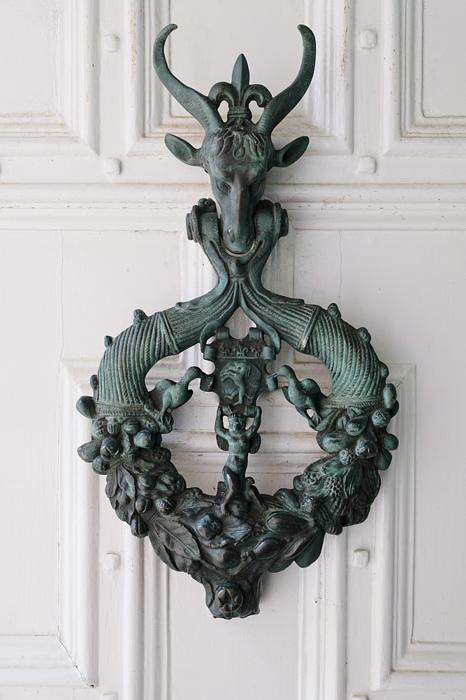 photoblog image Burton Agnes Hall - Door knocker