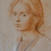 Burton Agnes - Augustus John drawing