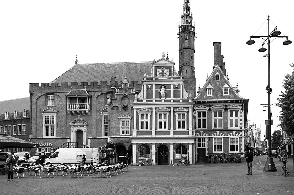 photoblog image Haarlem - the old town hall