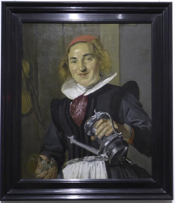 photoblog image Haarlem-Frans Hals Museum - The innkeeper