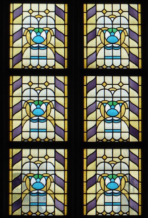 photoblog image Haarlem - Stained glass