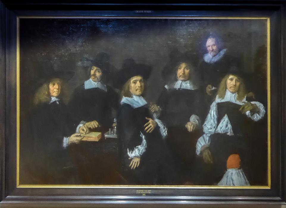photoblog image Haarlem - Regents of the Old Men's Home