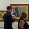 Wyspianski exhibition - passing by