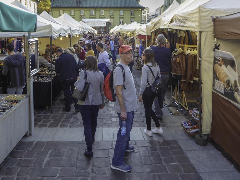 photoblog image Krakow-market