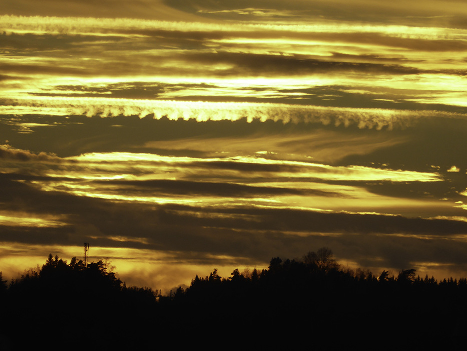 photoblog image Borås-sunset