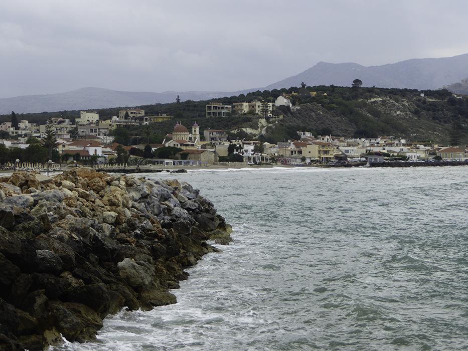 photoblog image Cretan coastline
