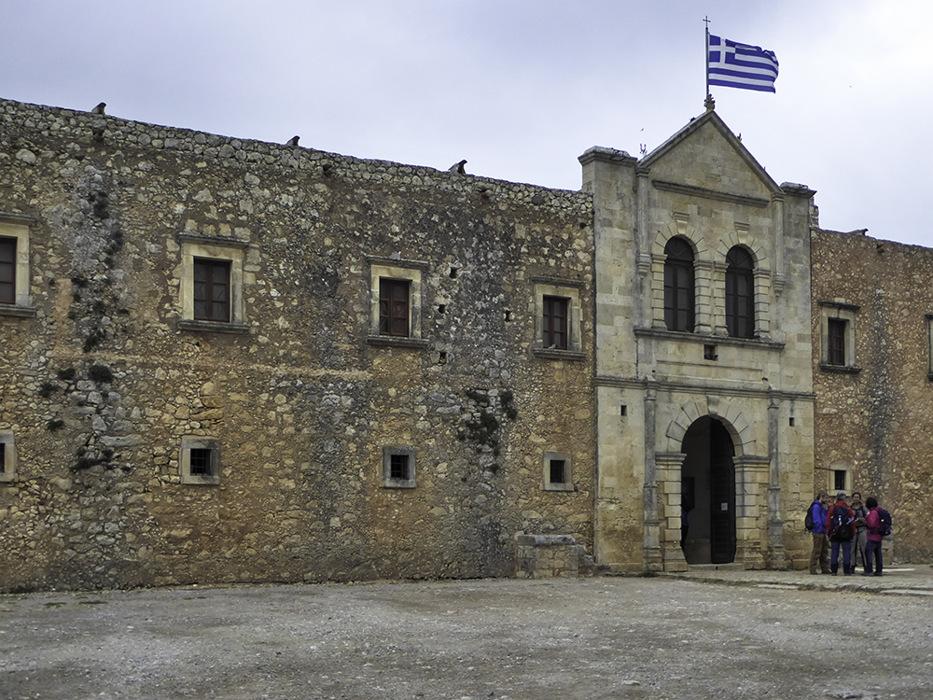 photoblog image Crete-Arkadi monastery-2
