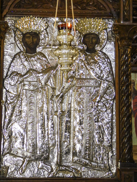 photoblog image Crete-Arkadi monastery-icon