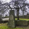 Headstone...
