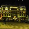 Gothenburg hotel by night