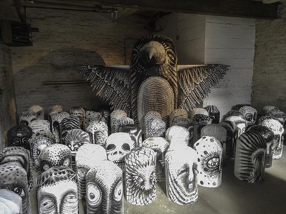 photoblog image Mausoleum of the Giants exhibition - 3