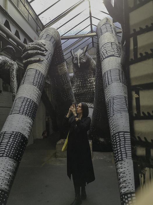 photoblog image Mausoleum of the Giants exhibition - 4