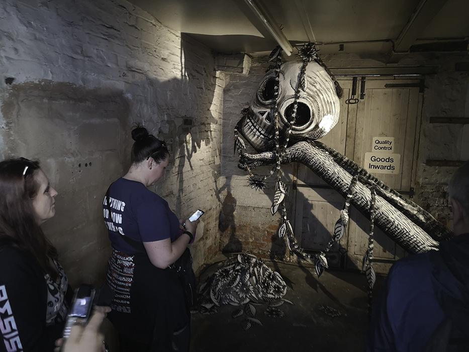 photoblog image Mausoleum of the Giants exhibition - 7