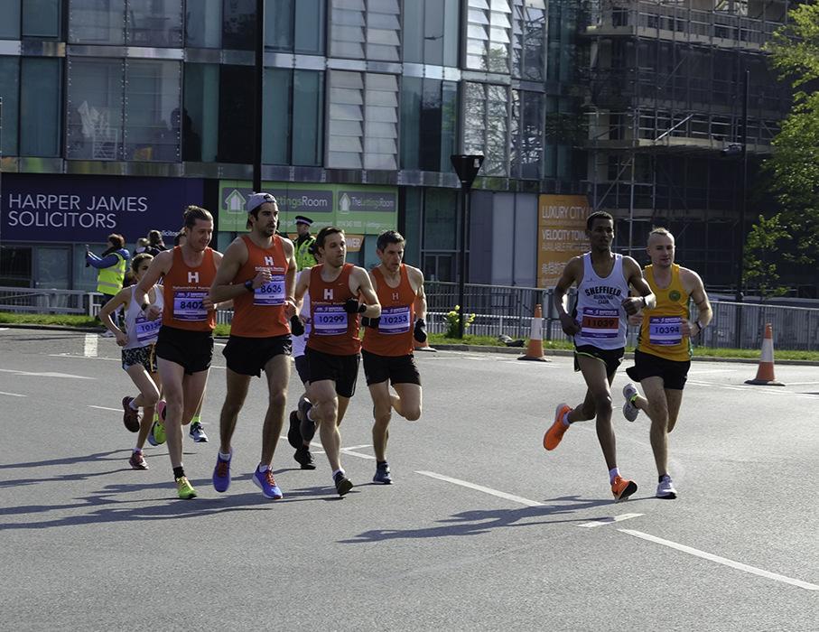 photoblog image Sheffield Half Marathon 2019-2