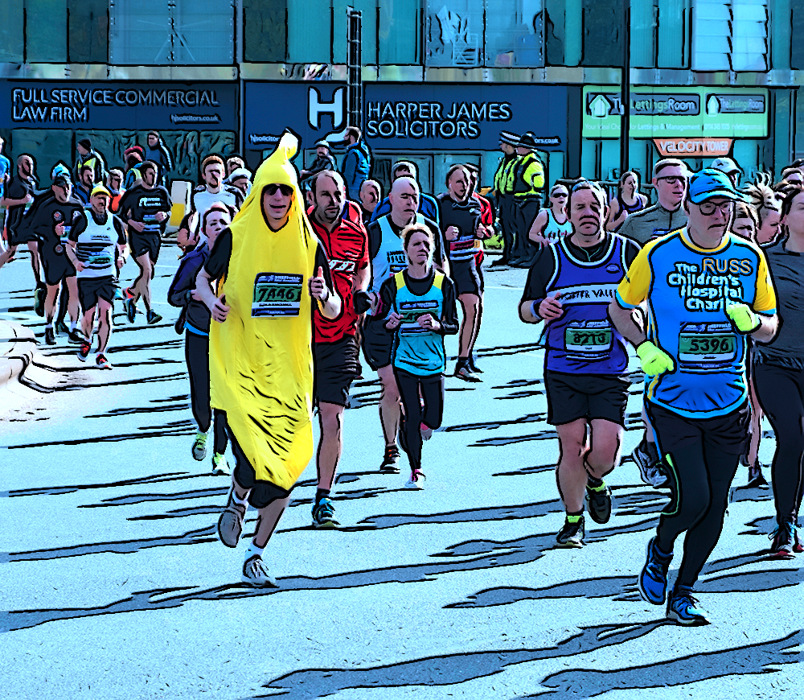 photoblog image Sheffield Half Marathon 2019-5