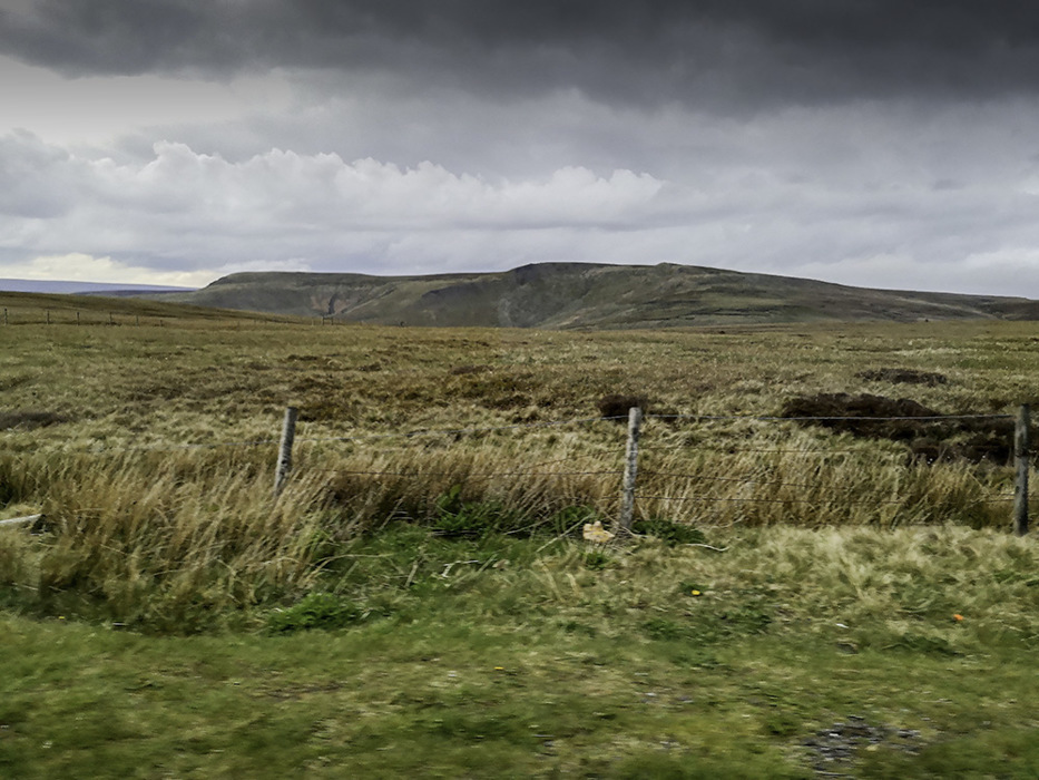 photoblog image Top of the Snake Pass looking North