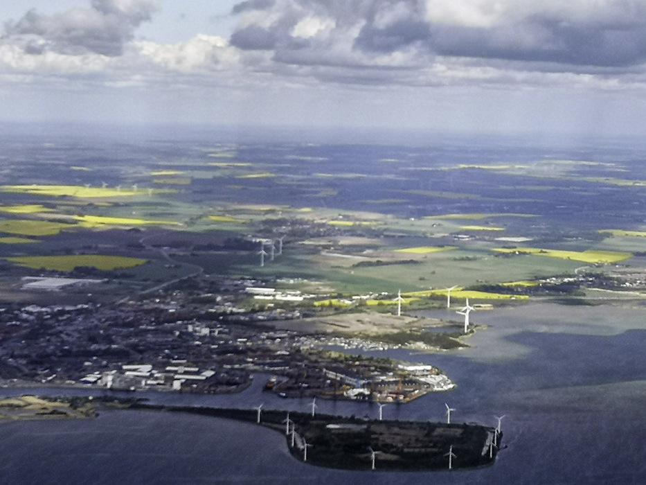 photoblog image Landskrona from air