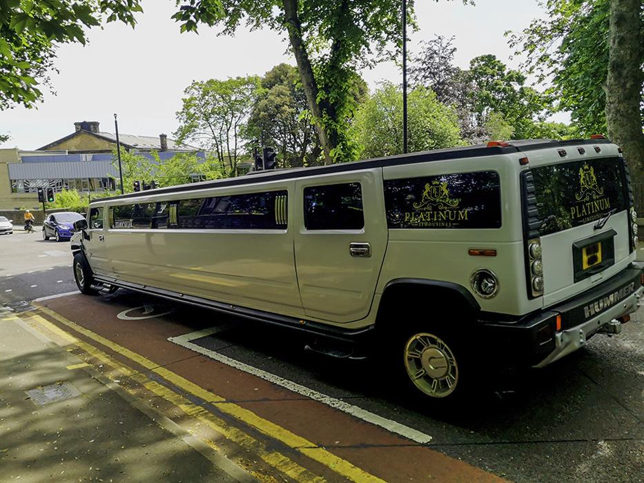 photoblog image Silly limo
