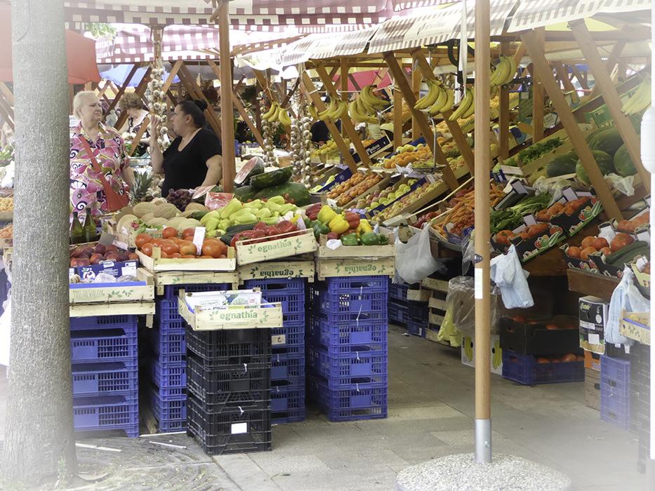 photoblog image Zadar-fruit and veg. market
