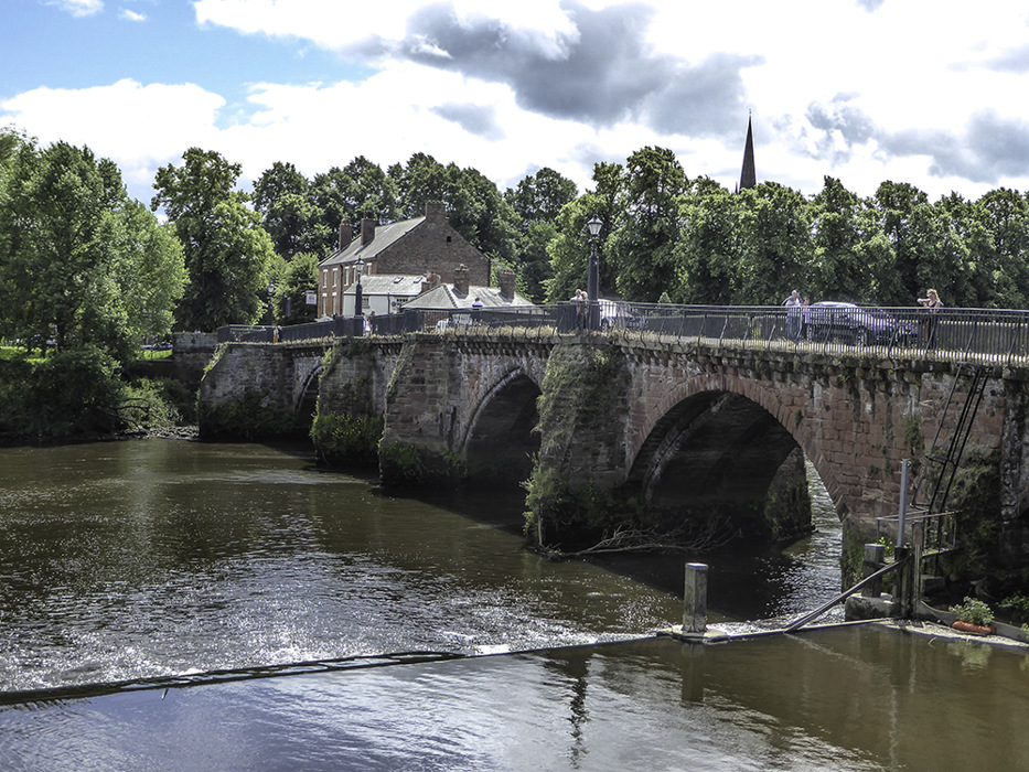photoblog image Chester-Old Dee Bridge