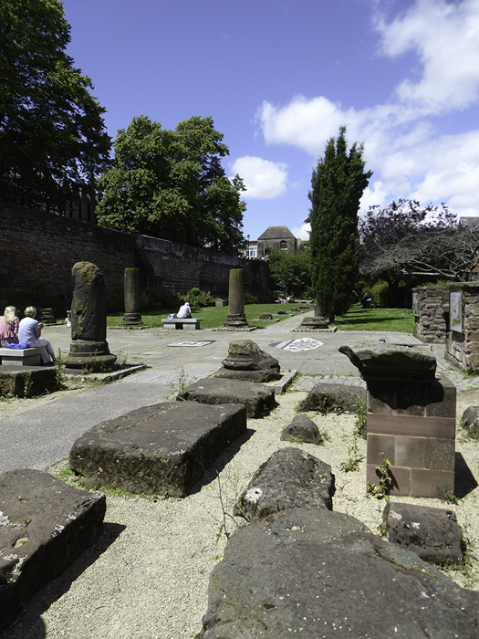 photoblog image Chester-Roman Gardens