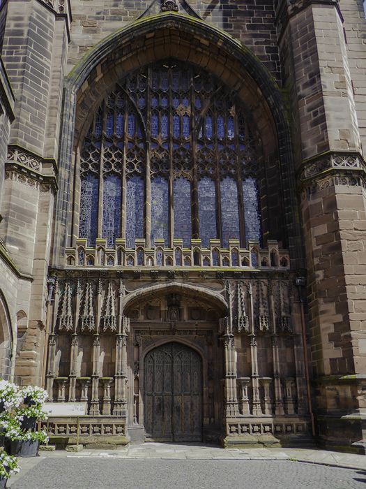 photoblog image Chester cathedral main entrance