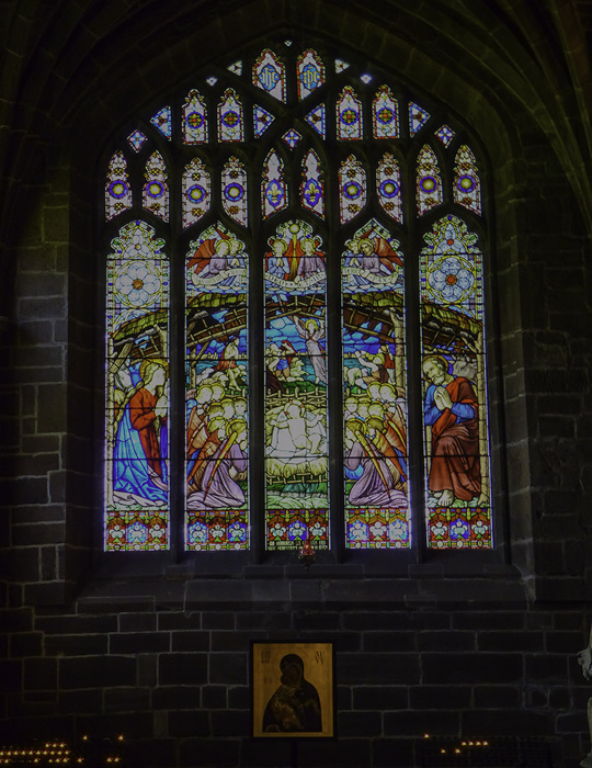 photoblog image Chester cathedral - stained glass