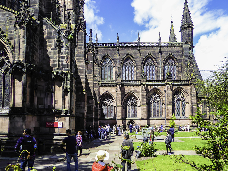 photoblog image Chester cathedral exterior