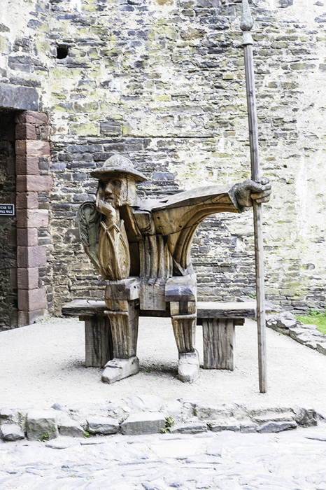 photoblog image Conwy Castle, resident