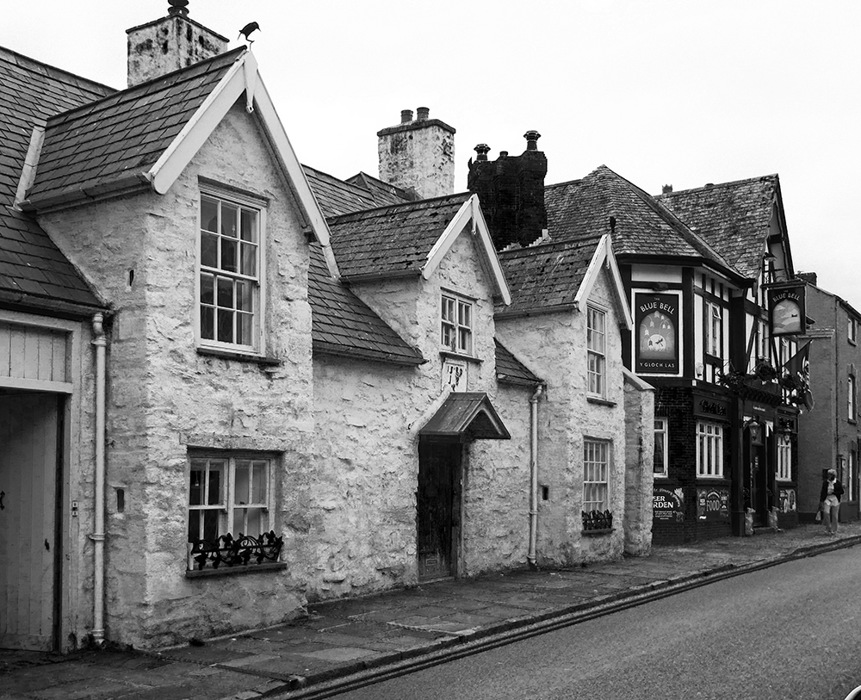 photoblog image Conwy - old house