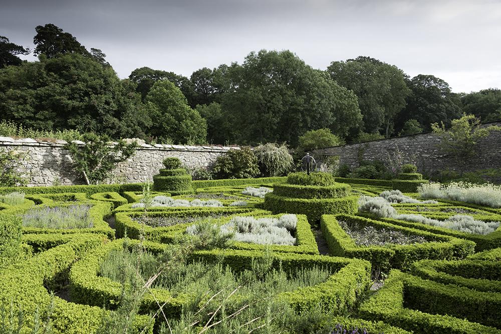 photoblog image Bodysgallen Hall -Formal Garden