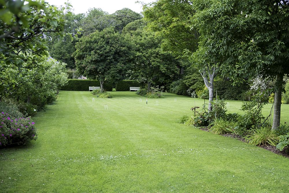 photoblog image Bodysgallen Hall - croquet lawn
