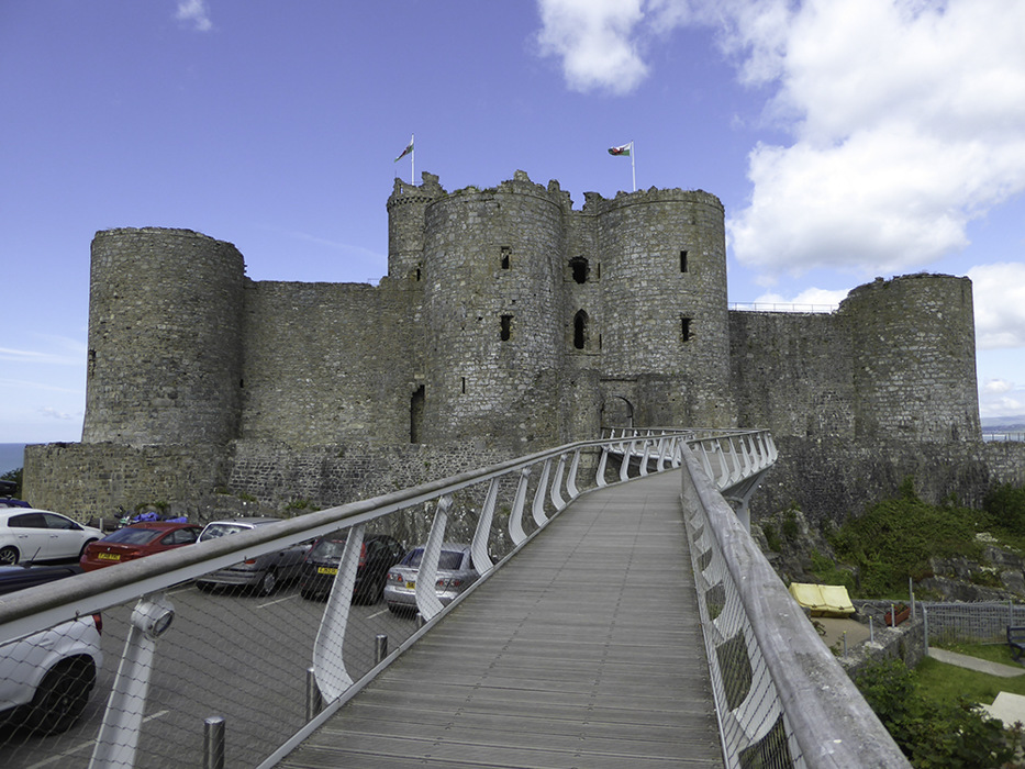 photoblog image Harlech Castle - 1