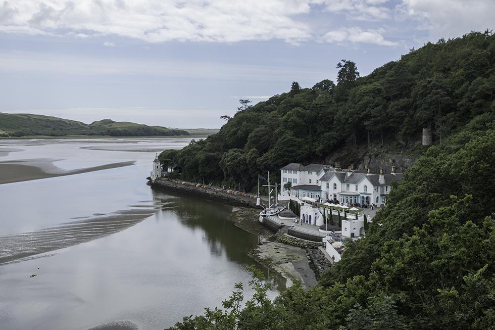 photoblog image Portmeirion-Low tide