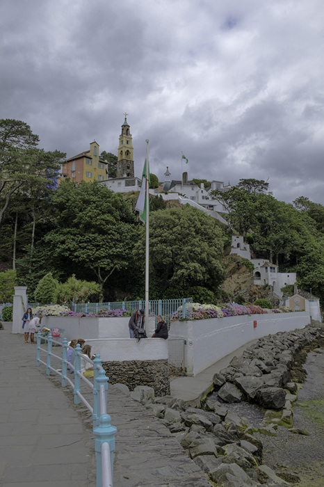 photoblog image Portmeirion-view from the shore
