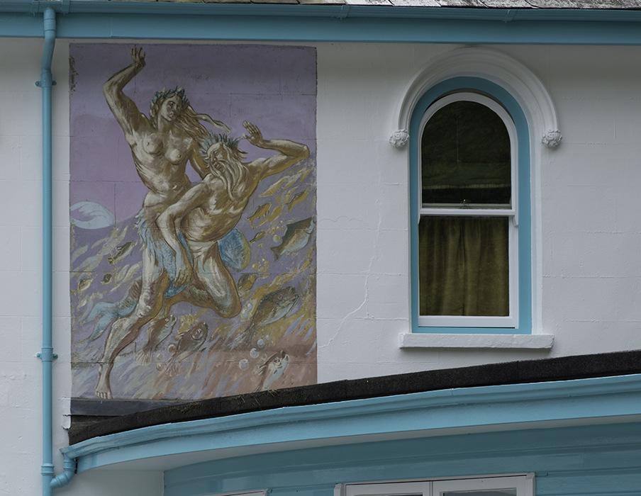 photoblog image Portmeirion-mural.jpg