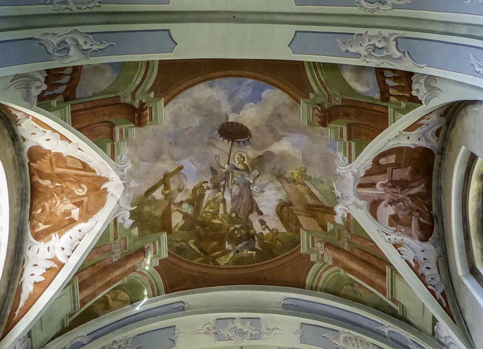 photoblog image Verkiai-Church of Holy Cross detail