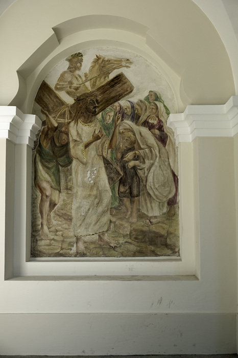 photoblog image Verkiai-station of the cross mural