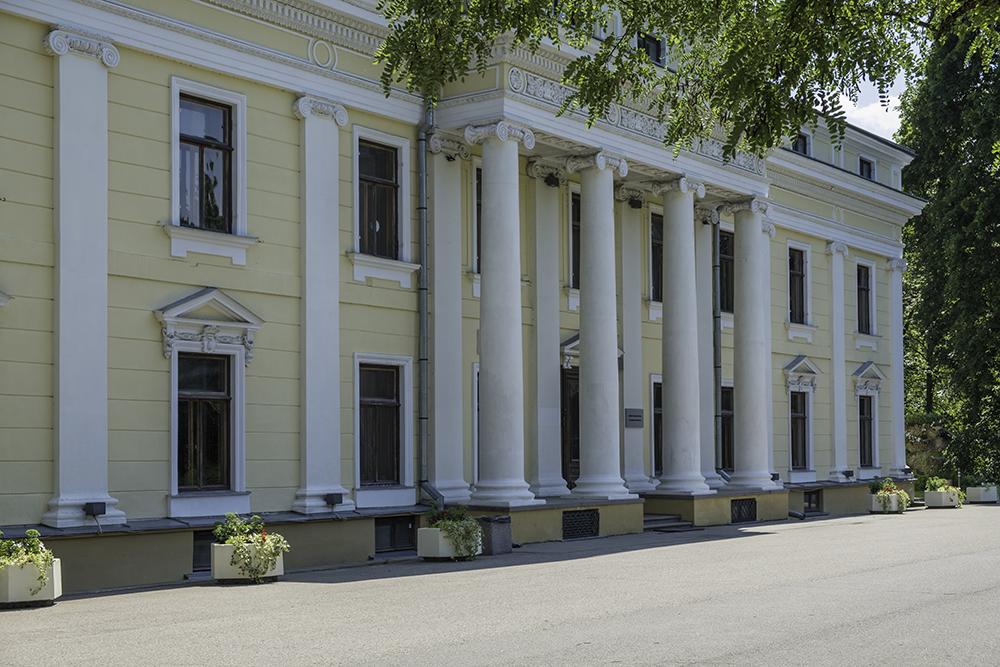 photoblog image Verkiai palace