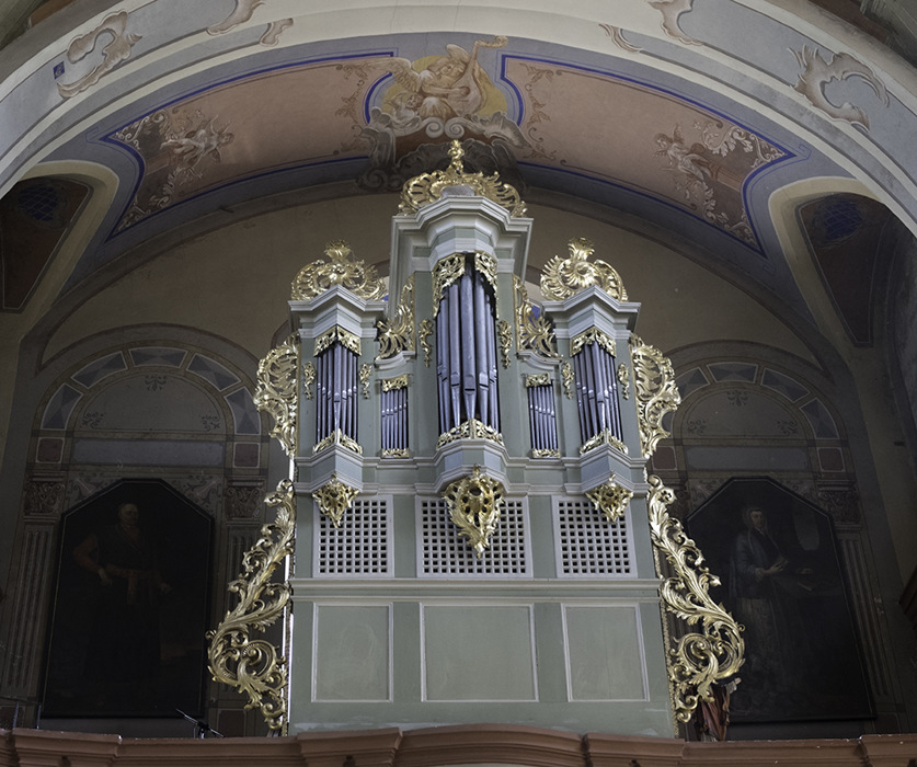 photoblog image Verkiai-church organ