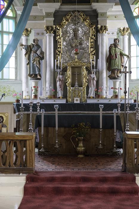 photoblog image Dusetos-Holy Trinity Church-altar
