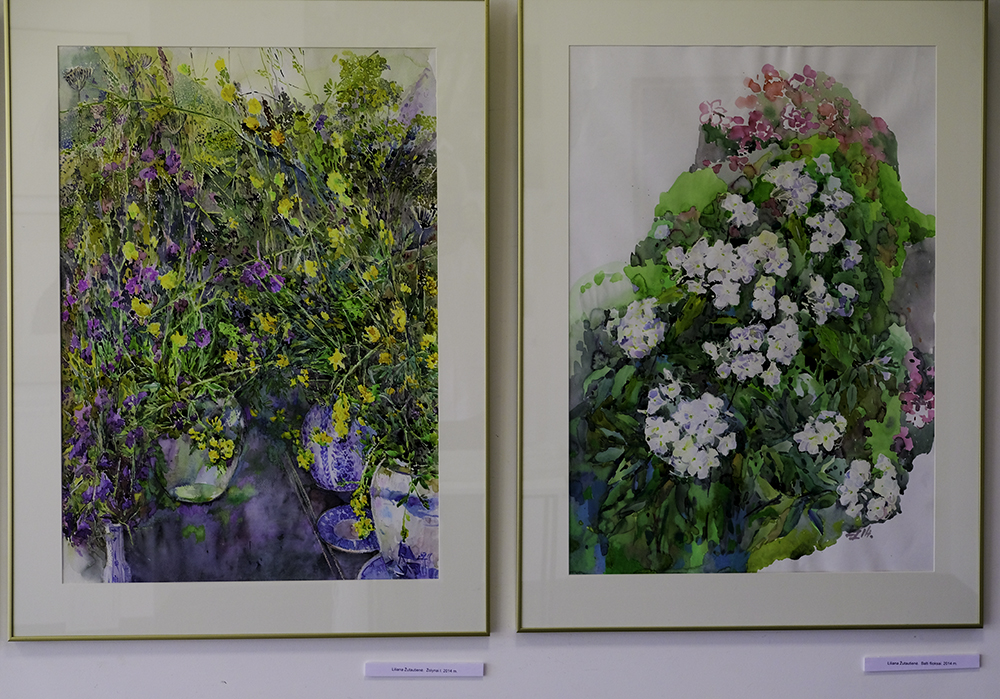 photoblog image Flower paintings