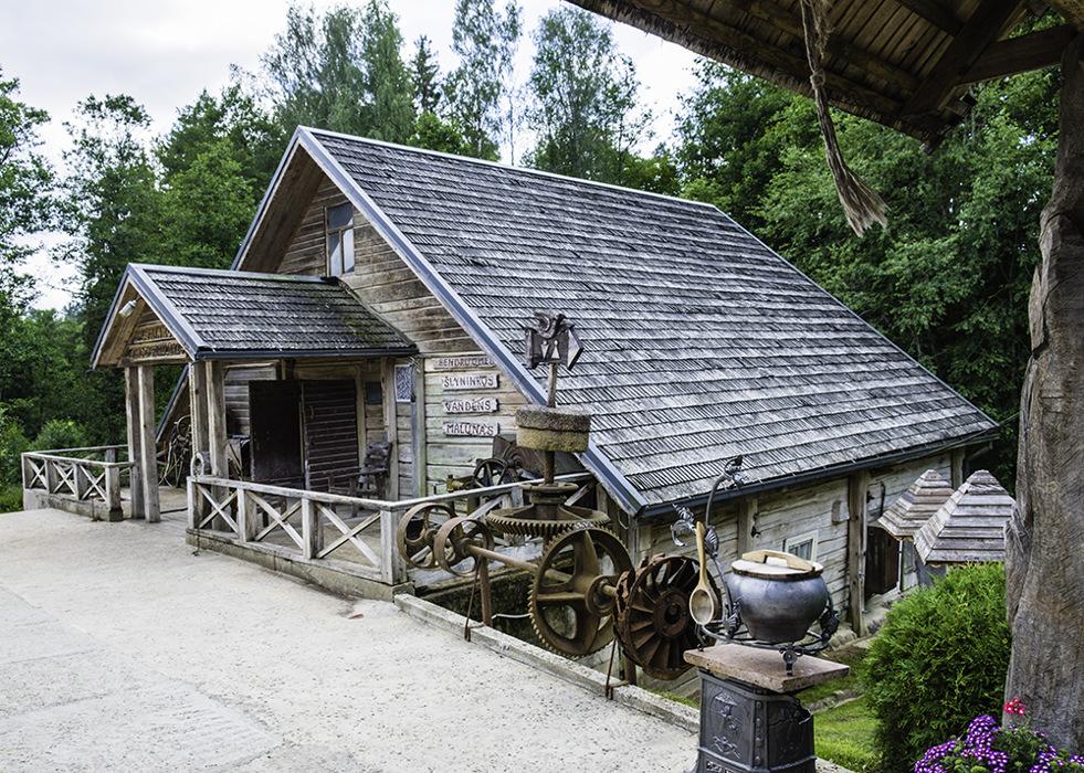 photoblog image Ginuciai flour mill
