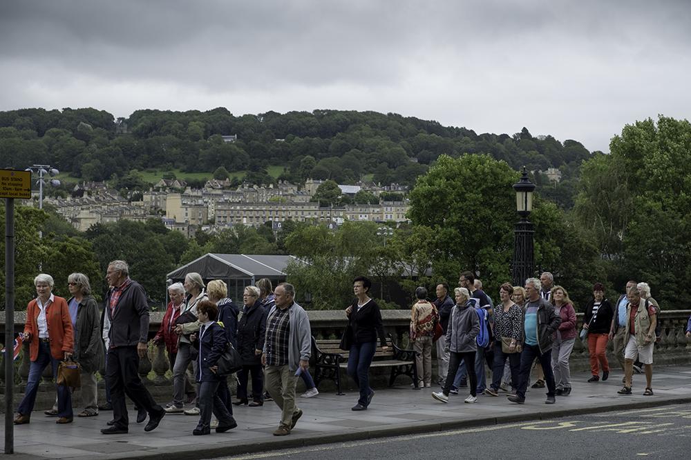 photoblog image Bath-tourists on parade!