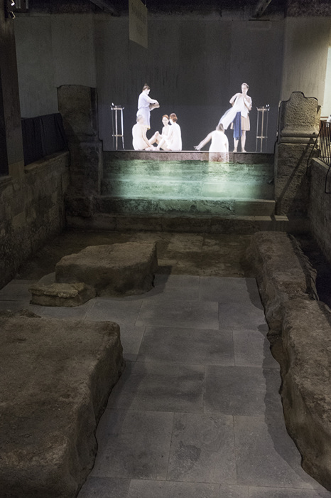 photoblog image Bath-Roman baths-ladies' pool