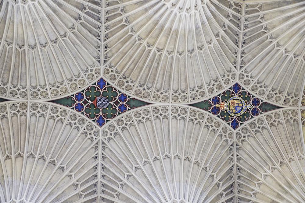 photoblog image Bath Abbey-ceiling