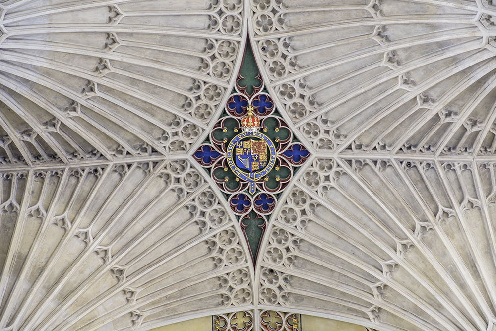 photoblog image Bath Abbey-ceiling detail
