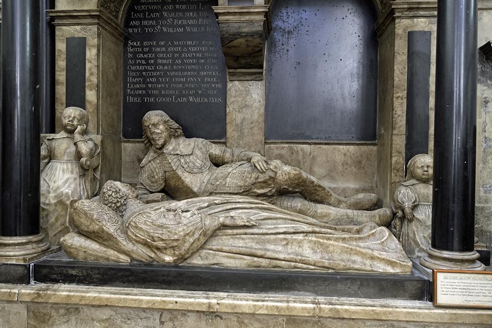 photoblog image Bath Abbey-Waller tomb