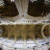 Bath Abbey-fish eye view